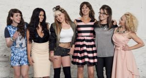 'One of the most fresh aspects of the programmes is that it is female-led and a-stereotypical.' The Connected cast (from left): Alanna Diggin, Nicole McQuillan, Elayne Harrington, Venetia Quick, Anna Ryan and Kate McGrew.