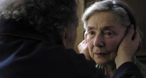 Amour, a thoughtful but terrifying look at death