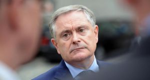 "Minister for Public Expenditure and Reform Brendan Howlin  said he welcomed the fact the Central Bank was ""assertive"" and ""independent"" in doing ""whatever needs to be done to prevent another bubble"".  Photograph: Eric Luke/The Irish Times"