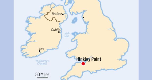 Map Of Quinn Ireland.Britain Gets Green Light For Nuclear Plant 240km From Ireland