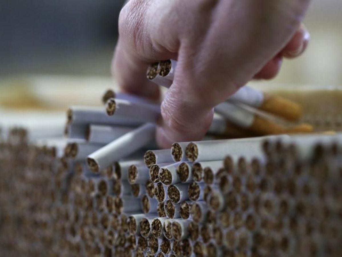 Cigarettes Davidoff black white