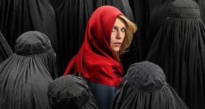 Flint-hard: Claire Danes in Homeland