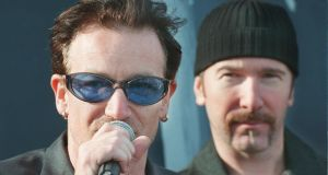 "Bono has said Ireland's contentious 'double Irish' tax regime has brought Ireland ""the only prosperity we've known"". Photograph: Alan Betson/The Irish Times"