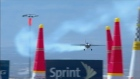 Pilots took to the skies to compete in Red Bull Air Race World Championship in Las Vegas before high winds forced a  cancellation. Video: Reuters