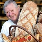 Declan Ryan, Cork, with some of his Arbutus bread. A small and obsessive band of bakers has grown up in Ireland. Photograph: Alan Betson