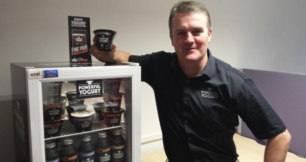 Irepak's Robert Doyle says Powerful Yogurt, a high-protein, fat-free product, will go on sale from mid-November.