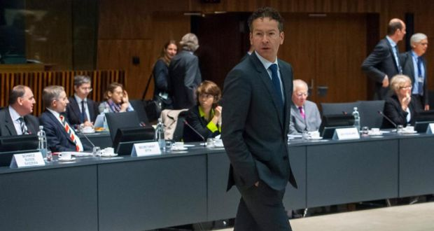Euro Group President And Dutch Finance Minister Jeroen Dijsselbloem At The Eu Headquarters In Luxembourg Yesterday