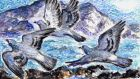 Another Life: Close call for our last few rock doves, wild originals of the west coast