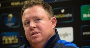 Leinster coach Matt O'Connor expects all his players to take leadership roles in Sunday's opening European Champions Cup game against Wasps. Photograph:  Ryan Byrne/Inpho