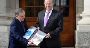 "Tuesday's Budget was a ""missed opportunity"" Moody's has said. .Photograph; Dara Mac Dónaill / The Irish Times"