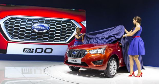 Datsun expands low-cost revival with new Mi-Do in Moscow [w/video ...