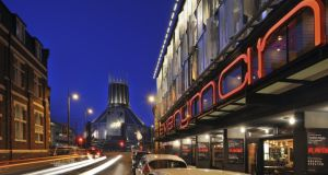 The Everyman Theatre in Liverpool by Haworth Tompkins has won the RIBA Stirling Prize coming ahead of Ireland's O'Donnell and Tuomey Architects. Photograph courtsey of RIBA Stirling Prize.