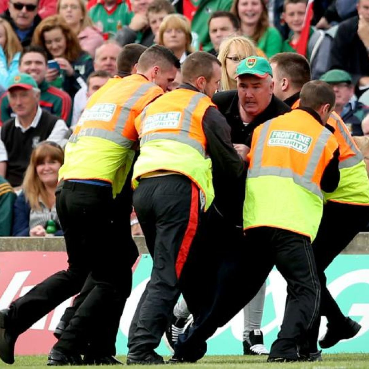 Mayo supporter likely to be stuck with 12-month ban for pitch invasion