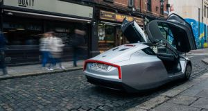 World S Most Fuel Efficient Production Car Takes To Dublin