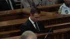 Prosecutor Gerrie Nel demands Oscar Pistorius serve at least 10 years behind bars for killing his girlfriend Reeva Steenkamp on Valentine's Day last year. Video: Reuters