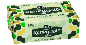 Kerrygold's 'limited-edition designer sheen' promotion  pack for the brand's butter block and spreadable ranges.