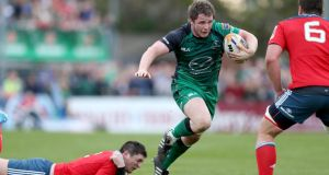 The return of Jason Harris-Wright at hooker for his debut this season is a welcome respite in a problem position for Connacht. Photograph: Dan Sheridan / Inpho