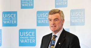 Irish Water managing director John Tierney.  Dissatisfaction with the company's communication management in particular has grown among Government members.