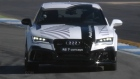 Audi race a driverless RS7 against one with a human at the wheel. The driveless car won by 5 seconds.
