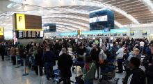 """The Common Travel Area (CTA) is utterly inconsistent: it means no queues and no passport controls when we travel to Heathrow and Gatwick, but usually involves queues and always a passport check when travelling through Dublin Airport."" Photograph:  Steve Parsons/PA Wire"
