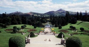 Powerscourt gardens in Co Wicklow. Photograph: Bord Failte