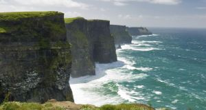 Cliffs of Moher in Co Clare.