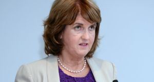 "Tánaiste and Minister for Social Protection Joan Burton: ""I have no plans to increase a person's minimum contribution under the rent supplement scheme, that is that a person is required to pay towards their accommodation from their own resources."" Photograph: Eric Luke/The Irish Times"
