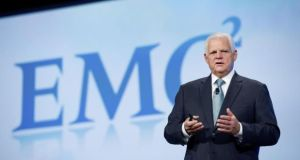 "Joseph ""Joe"" Tucci, chairman and chief executive officer of EMC. The firm has forecast full-year revenue of $24.5 billion"
