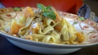 Lilly Higgins 'Give Me Five': Butternut squash and sausage tagliatelle
