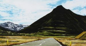 Included in Vue is 'Facing North III (summer version)' by Oliver Comerford, Kevin Kavanagh Gallery