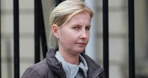 Greta Dudko, of Station Court Hall, Clonsilla, Dublin was convicted of murder Photograph: Paddy Cummins