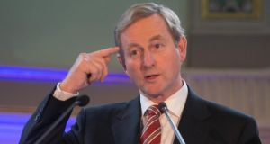 Taoiseach Enda Kenny is seeking special concessions over carbon emissions. Photo: Gareth Chaney/Collins