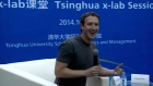 Facebook CEO and co-founder Mark Zuckerberg impresses an audience of Chinese students by participating in a question and answer session in Mandarin. Video: Reuters