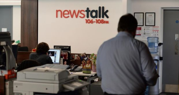 Interior of the News Talk Newsroom. (The Irish Times)