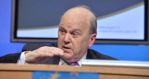 Minister for Finance Michael Noonan said he was amending the Special Assignee Relief Programme (Sarp). .Photograph: Alan Betson / The Irish Times