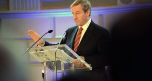 Taoiseach Enda Kenny wants Ireland's high dependence on agriculture taken into account in setting greenhouse gas targets. Photograph: Eric Luke / The Irish Times