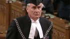 Canadian Parliament Sergeant-at-Arms Kevin Vickers receives a hero's welcome in the House of Commons the day after he shot dead the gunman who opened fire inside a parliament building and fatally shot a soldier at a war memorial. Video: Reuters