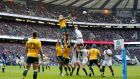 England and Australia clash at Twickenham Stadium last November: 650,000 people applied for tickets to the pool game between the two sides at next year's World Cup. Photograph: Tom Shaw/Getty.