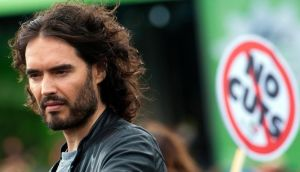 "Russell Brand: ""The reason I don't vote is the same reason I don't eat glitter; there's no fucking point"". Photo: EPA"