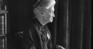 LT Meade in June 1910, four years before her death: Photograph: Bassano / National Portrait Galery, London
