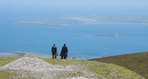 In 2013 Blue Raincoat performed WB Yeats's Purgatory beside Meadbh's cairn on Knocknarea