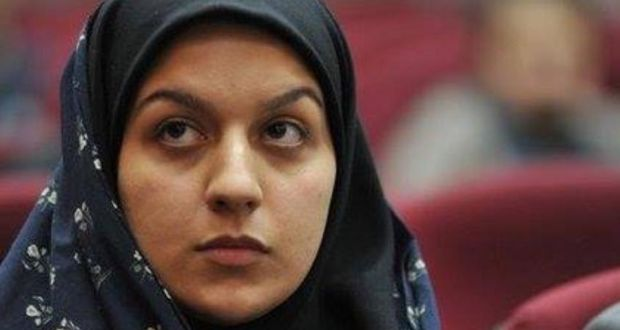 A photograph of Reyhaneh Jabbari from a Facebook page dedicated to highlighting her case.