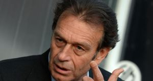 "Former Leeds United great Johnny Giles says owner Massimo Cellino (pictured) should ""get out of the club"". Photograph: Tony Marshall/PA"