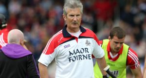 Kieran Kingston has stepped down from his coaching role with the   Cork hurlers. Photograph: Inpho