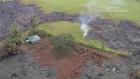 A river of molten lava crosses into residential property on Hawaii's Big Island where it's threatening to consume its first home, according to officials. Video: Mick Kalber/Tropical Visions/Reuters