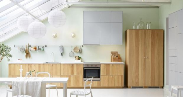ikea kitchen design. In This Ikea Kitchen All The Standard Functions Have Been Made To Look As  Much Like 7 Alternative Designs