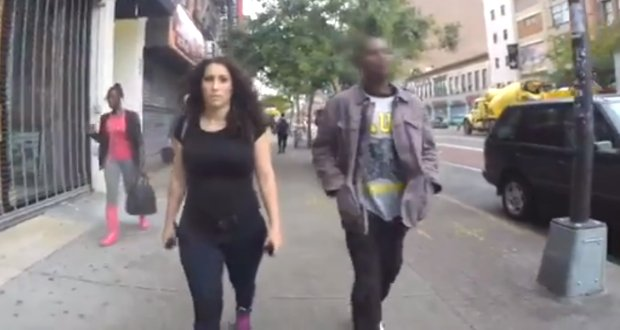 New york city sexual harassment video