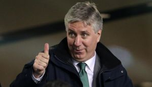 FAI chief executive John Delaney not happy with SFA. Photograph: Cathal Noonan / Inpho