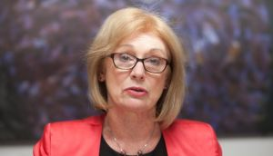 Minister for Education Jan O' Sullivan: has told Waterford IT and IT Carlow to resume talks as a merger was necessary if they wished to be designated a technological university for the southeast. Photograph: Gareth Chaney/Collins