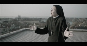 A singing nun, who won an Italian TV talent contest, releases a cover of Madonna's
